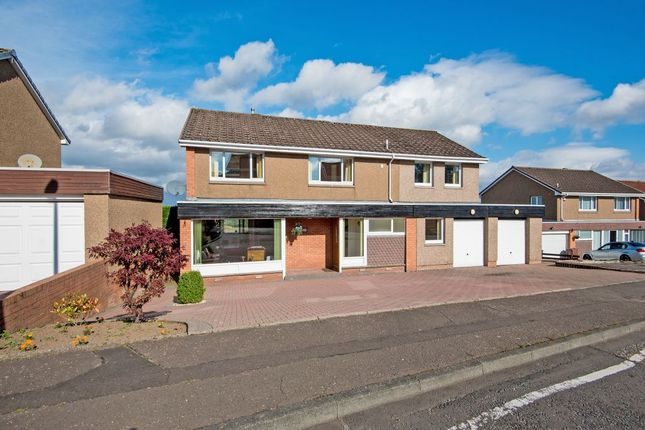 Thumbnail Detached house for sale in Curriehill Castle Drive, Balerno