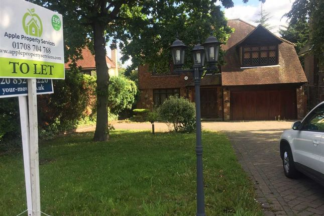 Thumbnail Detached house to rent in Tomswood Road, Chigwell