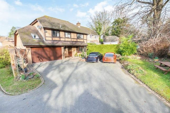 Thumbnail Detached house for sale in Weller Close, Worth, Crawley, West Sussex