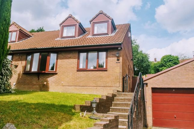 Thumbnail Semi-detached house for sale in Heol Cwm Ifor, Caerphilly