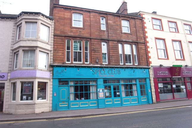 Thumbnail Flat to rent in 18A King Street, Penrith, Cumbria