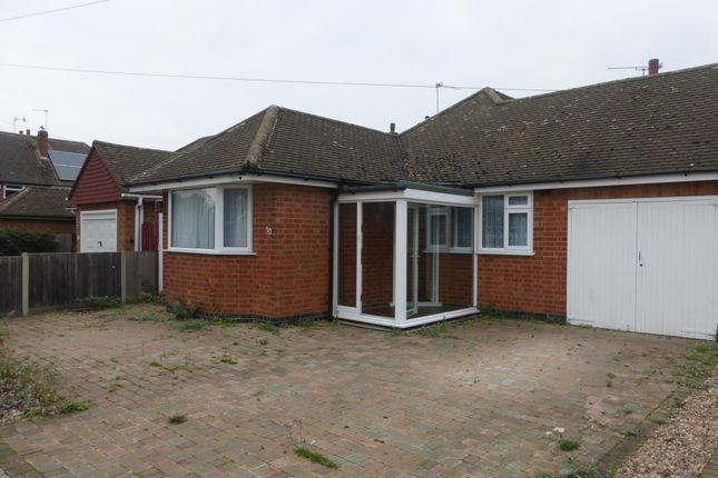 Thumbnail Bungalow to rent in Judith Drive, Leicester