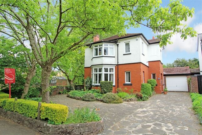 Thumbnail Detached house for sale in Lake Road East, Roath Park, Cardiff