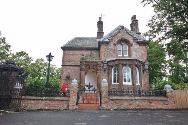 Thumbnail Lodge for sale in Hillfoot Road, Woolton, Liverpool