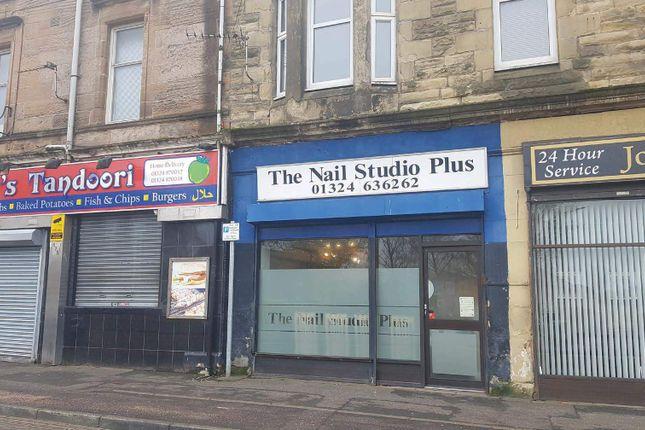 Thumbnail Retail premises to let in Roman Buildings, Mansionhouse Road, Camelon, Falkirk