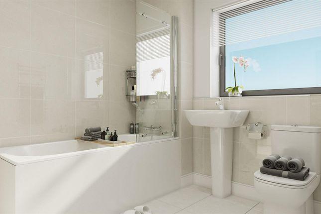 Bathroom Example of Plot 26, The Boston, St. Andrew's Park, Uxbridge UB10