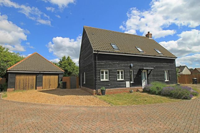 Thumbnail Detached house for sale in Whitwell Court, Offord Cluny
