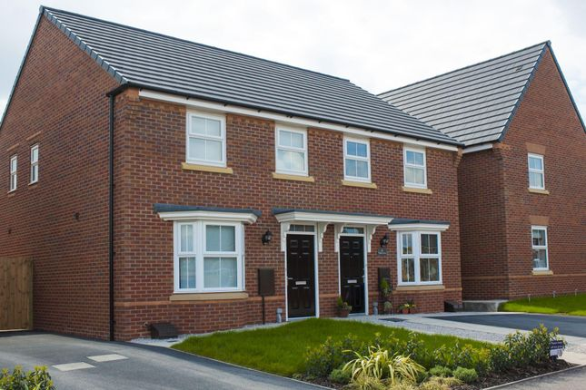 "Thumbnail End terrace house for sale in ""Archford"" at Warkton Lane, Barton Seagrave, Kettering"