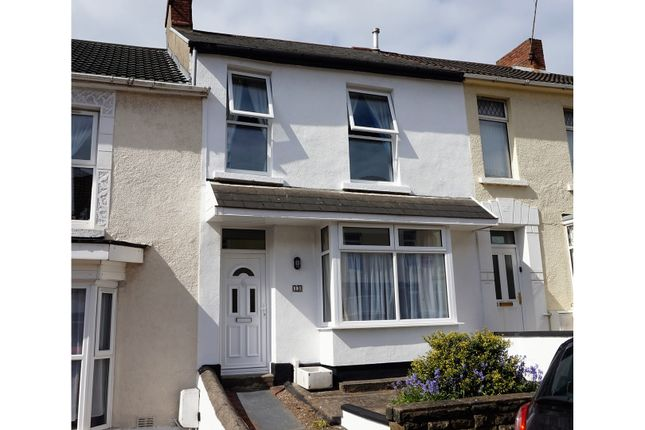 Thumbnail Terraced house for sale in Rhyddings Park Road, Brynmill
