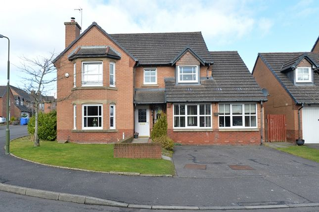 Thumbnail Detached house for sale in Westcroft Court, Livingston, West Lothian