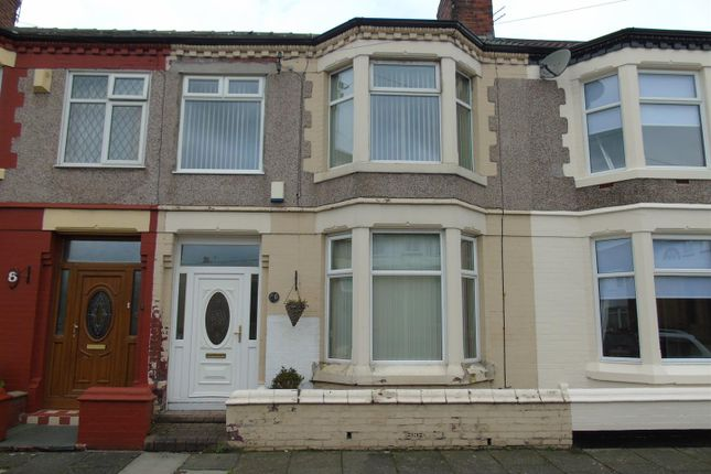 Thumbnail Terraced house to rent in Whinfield Road, Orrell Park, Liverpool