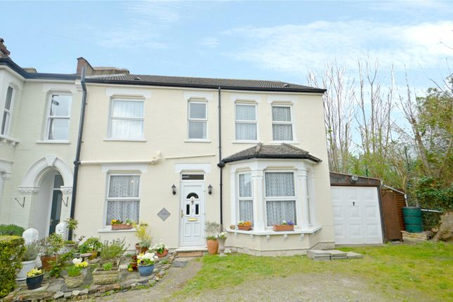 Thumbnail End terrace house for sale in Amberley Grove, Addiscombe, Croydon