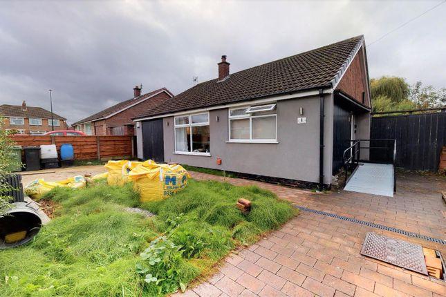 Thumbnail Detached bungalow for sale in Coniston Road, Partington, Manchester