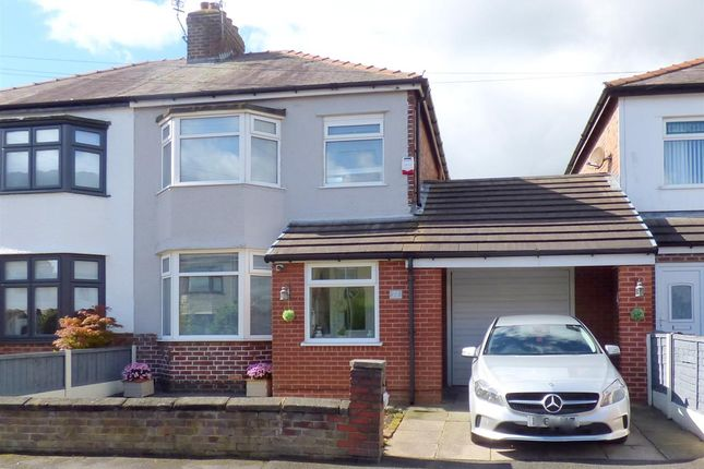 Thumbnail Semi-detached house for sale in Rydal Avenue, Prescot, Liverpool