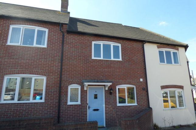 Thumbnail Terraced house to rent in Otterton Mews, Second Avenue, Axminster, Devon