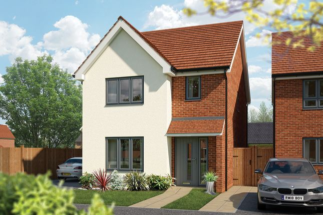"Thumbnail Detached house for sale in ""The Cypress"" at Fields Road, Wootton, Bedford"
