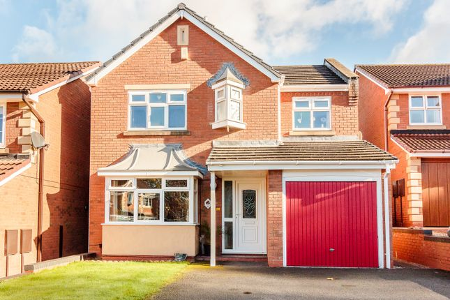 Thumbnail Detached house for sale in Reynards Coppice, Telford