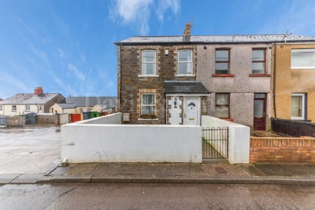 Thumbnail End terrace house for sale in Park Street, Griffithstown, Pontypool.