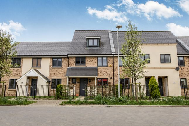 Thumbnail Terraced house for sale in Stone Hill, St. Neots