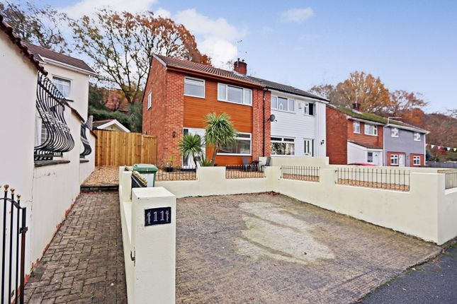 Thumbnail Semi-detached house for sale in Dan-Yr-Allt Close, Pontypridd