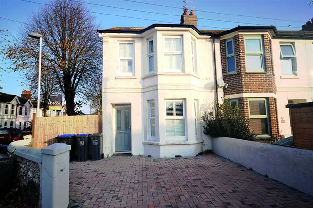 Thumbnail End terrace house for sale in Kingsland Road, Broadwater, Worthing, West Sussex