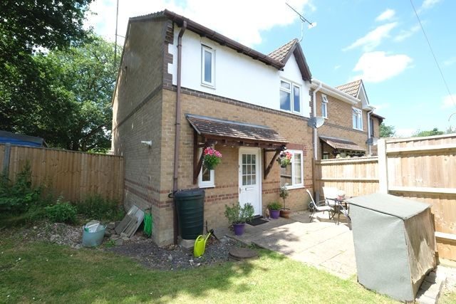 Thumbnail End terrace house for sale in Shell Court, Marchwood