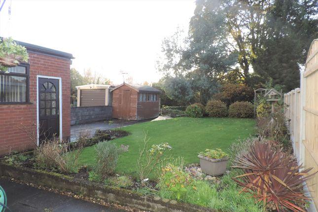 Garden of East Bank Ride, Forsbrook, Stoke On Trent ST11