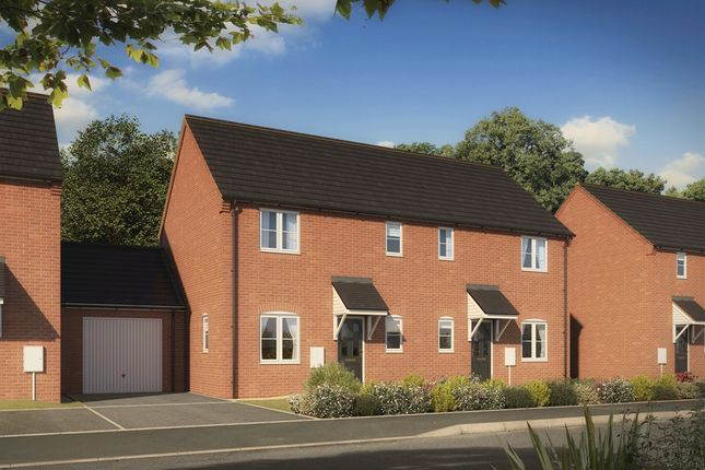 """Thumbnail Semi-detached house for sale in """"The Elliot"""" at Milestone Road, Stratford-Upon-Avon"""