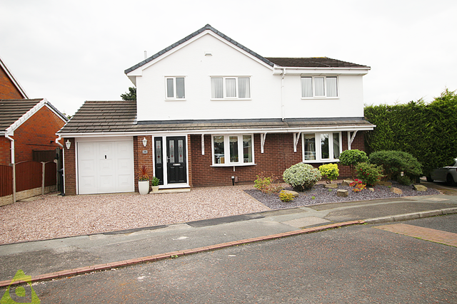 Thumbnail Detached house for sale in Green Meadows, Westhoughton