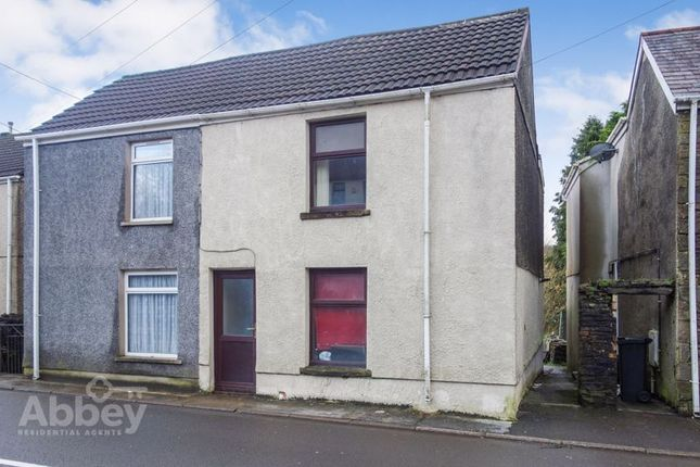 Thumbnail Semi-detached house for sale in New Road, Pontardawe
