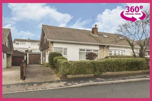 Thumbnail Bungalow for sale in Eastfield Road, Caerleon, Newport
