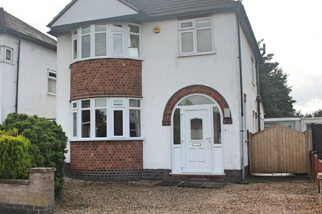 Thumbnail Detached house for sale in Hayes Road, Wigston, Leicester