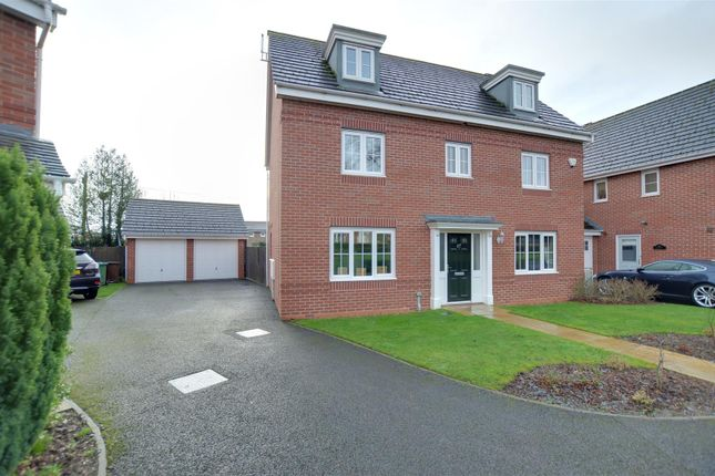 Thumbnail Detached house for sale in The Garthlands, Stafford