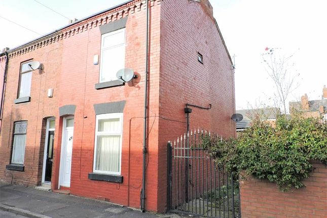 Thumbnail End terrace house for sale in Harwich Close, Levenshulme, Manchester
