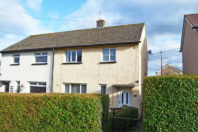 Thumbnail Semi-detached house for sale in Brynglas, Gilwern, Abergavenny, Monmouthshire