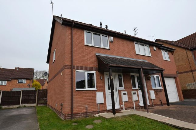 Thumbnail Semi-detached house for sale in Northacre Road, Oakwood, Derby