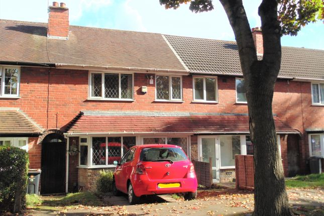 Thumbnail Terraced house for sale in Grindleford Road, Birmingham