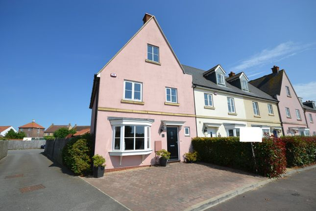 Thumbnail End terrace house for sale in Battle Rise, Heybridge, Maldon