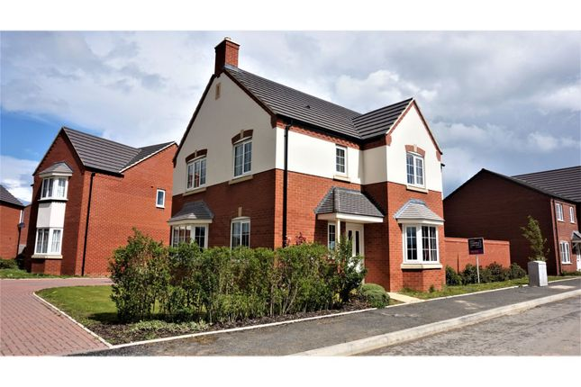 Thumbnail Detached house for sale in Enstone Way, Evesham