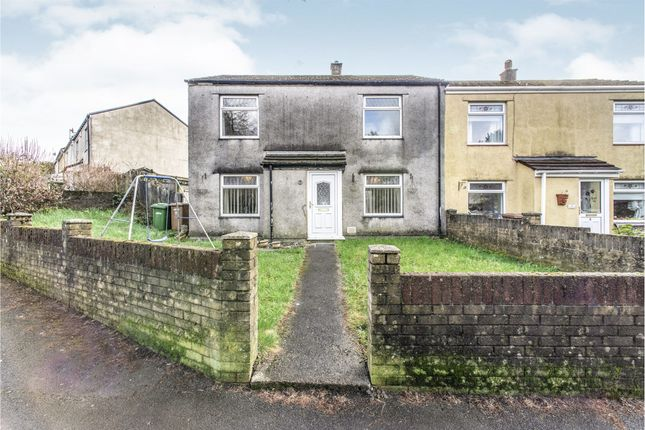 Thumbnail End terrace house for sale in Forge Crescent, Rhymney, Tredegar