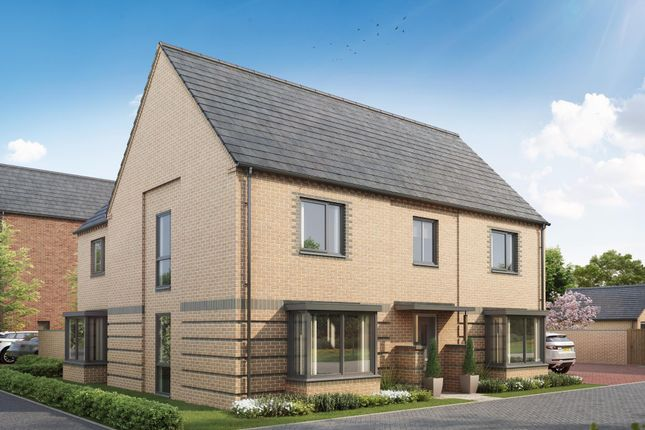 "Thumbnail Detached house for sale in ""Henley"" at Pedersen Way, Northstowe, Cambridge"