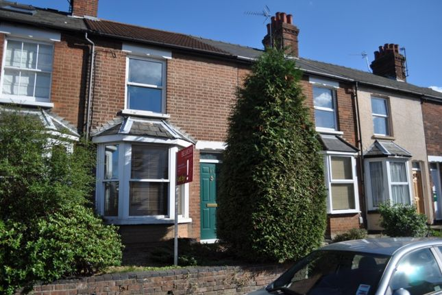 Thumbnail Terraced house to rent in Ickleford Road, Hitchin