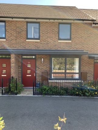 Thumbnail Terraced house to rent in Giles Drive, Castle Hill, Swanscombe