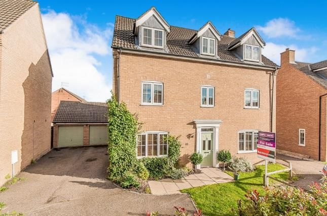 Thumbnail Detached house for sale in Marketstede, Hampton Hargate, Peterborough, Cambridgeshire