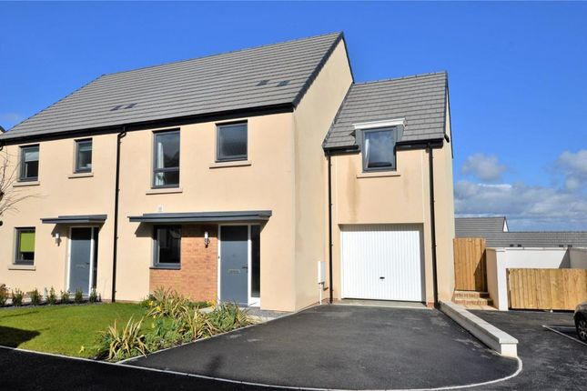 Thumbnail 4 bed semi-detached house to rent in Stock Park, Okehampton