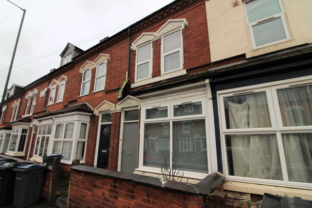 Thumbnail Terraced house for sale in Heeley Road, Birmingham