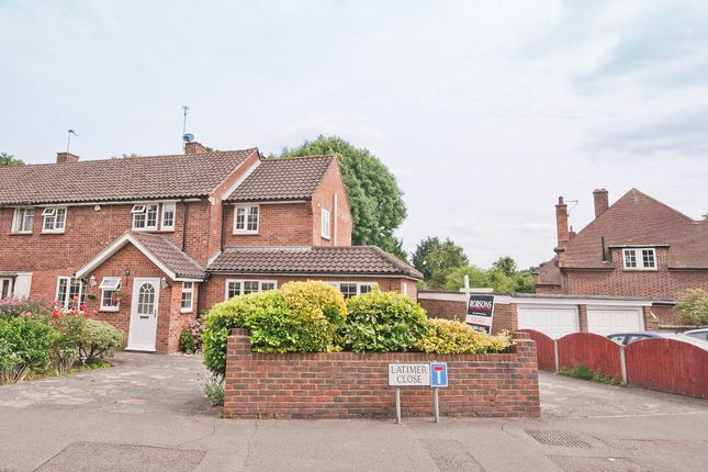 Thumbnail Semi-detached house for sale in Latimer Close, Pinner
