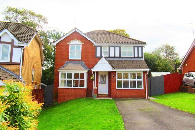 Thumbnail Detached house for sale in Parc-Tyn-Y-Waun, Llangynwyd, Maesteg, Bridgend.