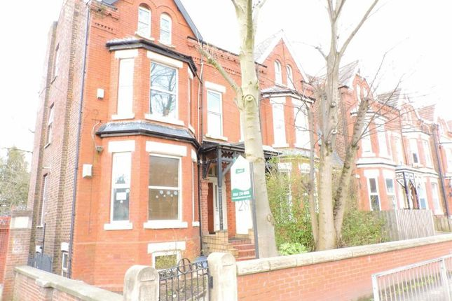 Thumbnail Block of flats for sale in Albert Road, Burnage, Manchester