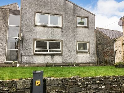 Front of 5 Agnew Crescent, Wigtown DG8
